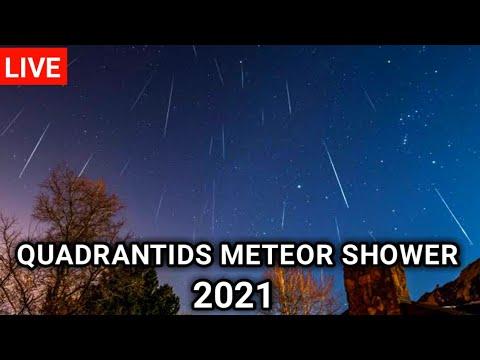 [LIVE] Quadrantids meteor shower 2021। meteor shower 2021।quadrantids meteor shower live
