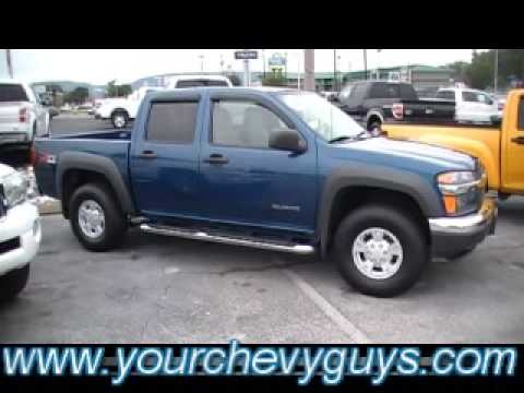2005 chevy colorado crew cab 4x4 z71 in chattanooga a mtn view chevy trade youtube. Black Bedroom Furniture Sets. Home Design Ideas
