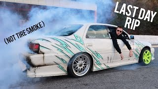 Touge Course Blew up my JZX100
