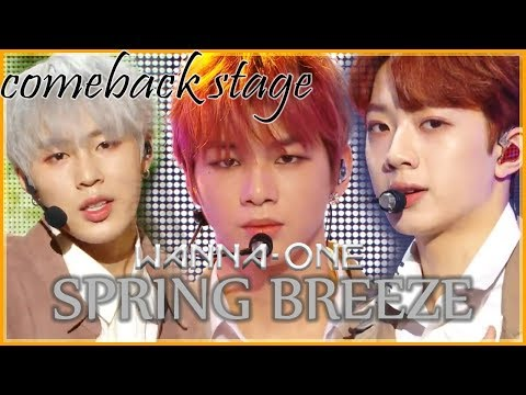 [Comeback Stage] Wanna One - Spring Breeze , 워너원 -  봄바람 Show Music Core 20181201
