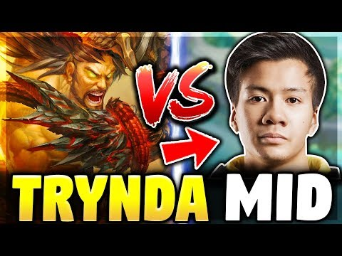 GIVING SHIPHTUR A TASTE OF TRYNDAMERE MID | Challenger Elo Match-ups - League of Legends