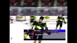 Omahamaho plays NHL Faceoff 2000 WITH NO FRAMELIMIT