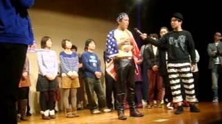 2013/02/11 じゅんいちダビッドソン アメリカン対決(笑) in 日替わり...