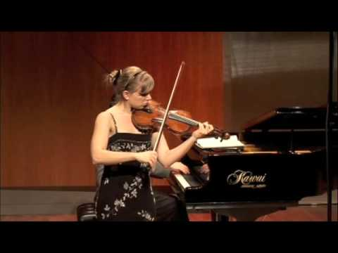 Luanne Homzy -- Faure: Violin Sonata, 1st movement