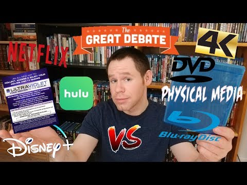 The Great Debate: Physical Media V.S. Streaming!
