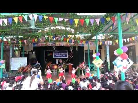 Khai giảng  Mầm non cổ nhuế A - 2011 _ 2012