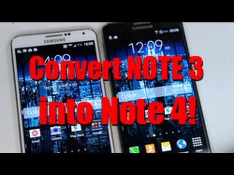 How to Convert your Note 3 into Note 4! [Note 4 Port Evolution ROM]
