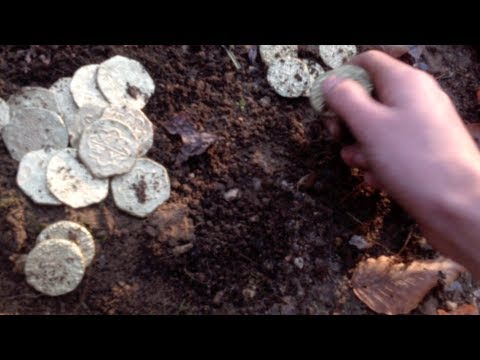Metal Detecting Buried Treasure Gold Coins Spanish Escodos
