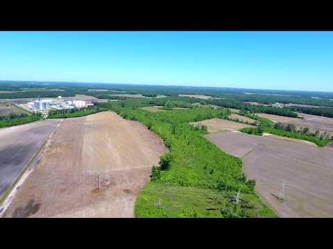 Hoke County Regional Industrial Park Drone Video