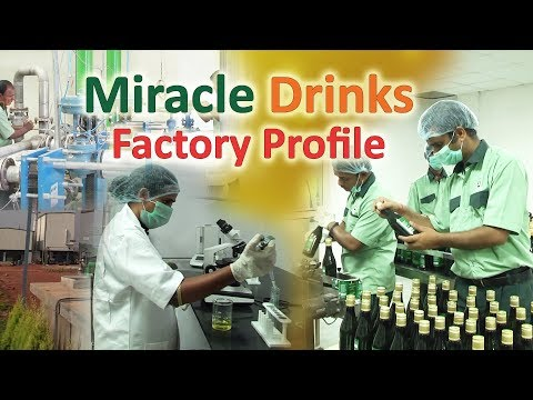 Miracle drinks herbal products - Manufacturing unit/Factory profile