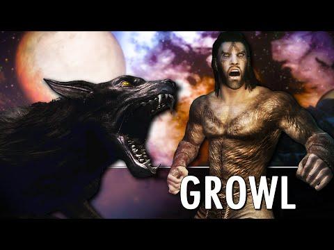 Skyrim Mod: Growl - Werebeasts Of Skyrim