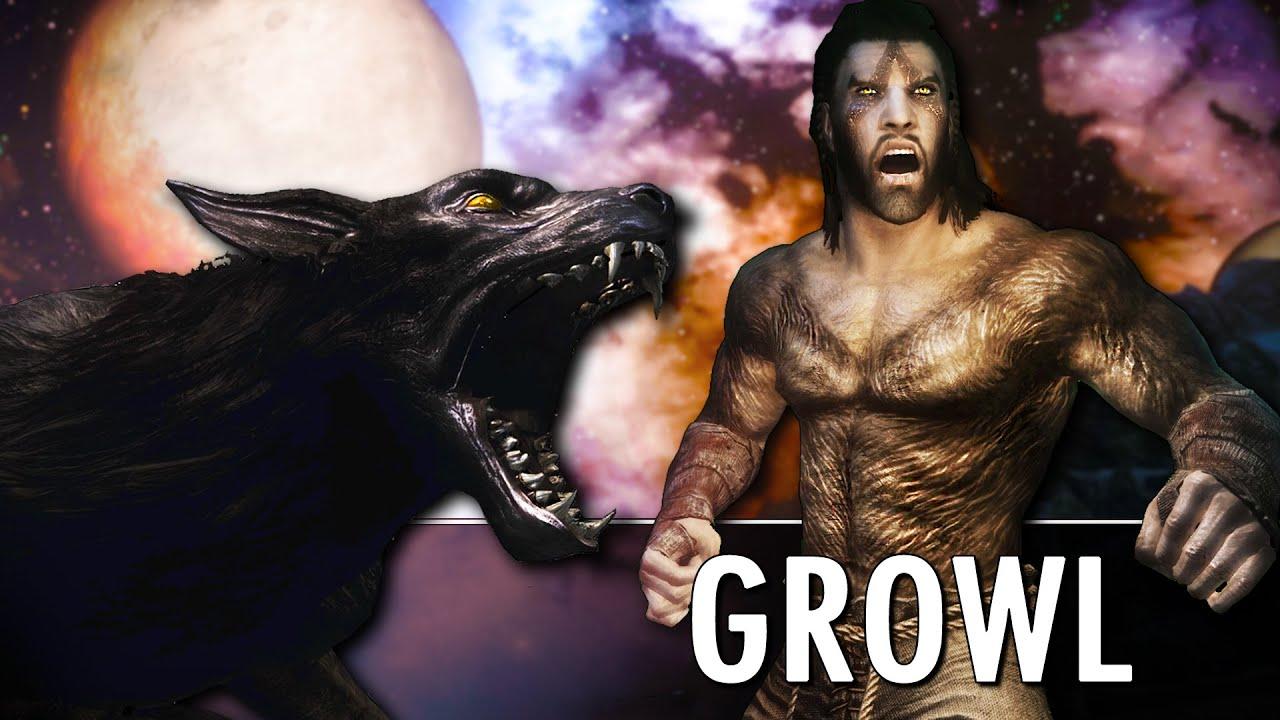 Skyrim Mod: Growl - Werebeasts of Skyrim thumbnail