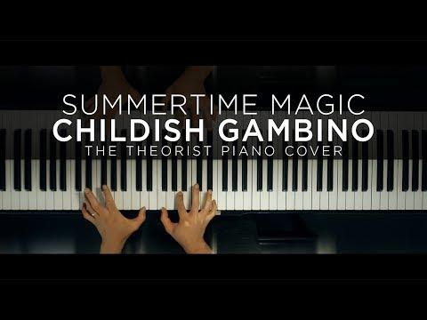 Childish Gambino - Summertime Magic | The Theorist Piano Cover