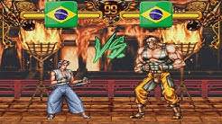 Double Dragon - willrebelde vs [BR]blackjuggerzinho