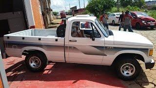 Restauração da Chevrolet D20