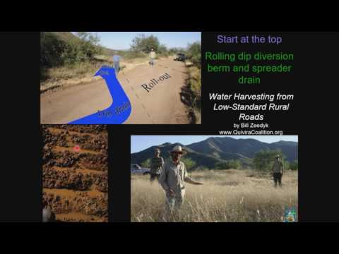 Water harvesting principles & the story of an African rain farmer Design guidelines for regenerative