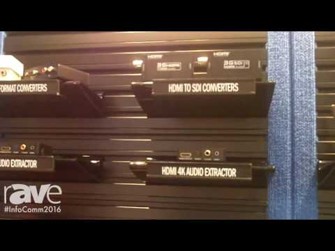 InfoComm 2016: QVS Intoduces Line of HDMI Converters