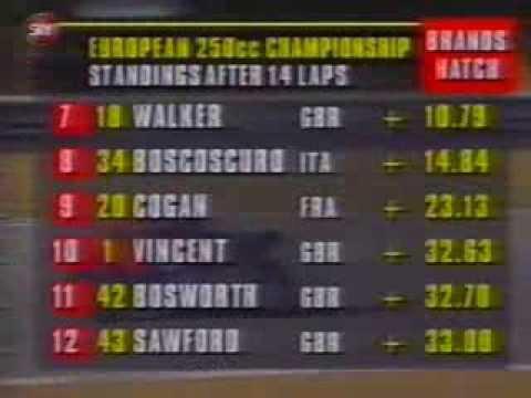 1995 EUROPEAN 250cc CHAMPIONSHIP - BRANDS HATCH