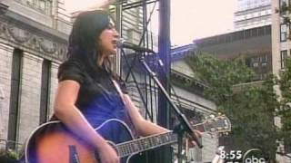 Michelle Branch - Tuesday Morning live GMA