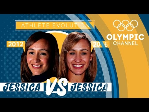 Athlete Evolution: Jessica Ennis Hill