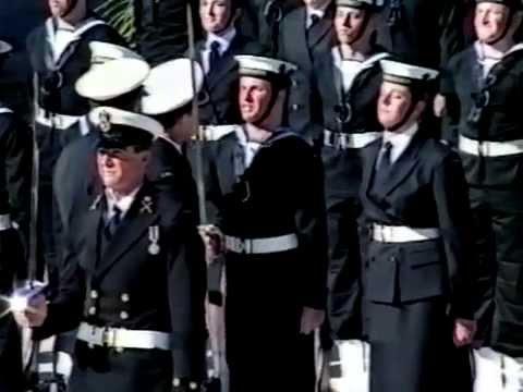 HMAS Cerberus Passing Out Parade