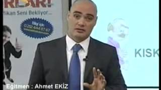Ahmet Ekiz; Satışçılıkta en başarılı olmayı hedeflemek.   YouTube