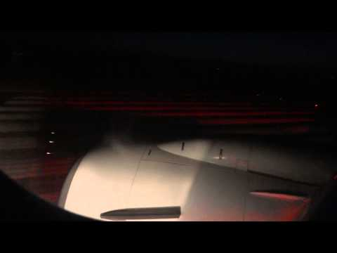 Ryanair HD night taxi+takeoff Thessaloniki with THOMSON and EASYJET