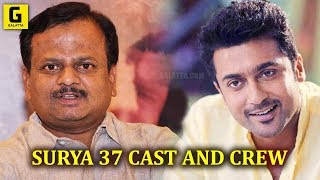 Director KV..Anand Tweets about 'Surya 37