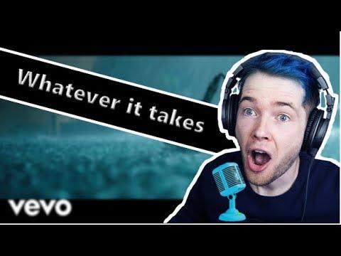 DanTDM Sings Whatever It Takes By Imagine Dragons