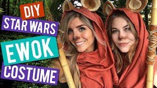 DIY Ewok Starwars Halloween Costume