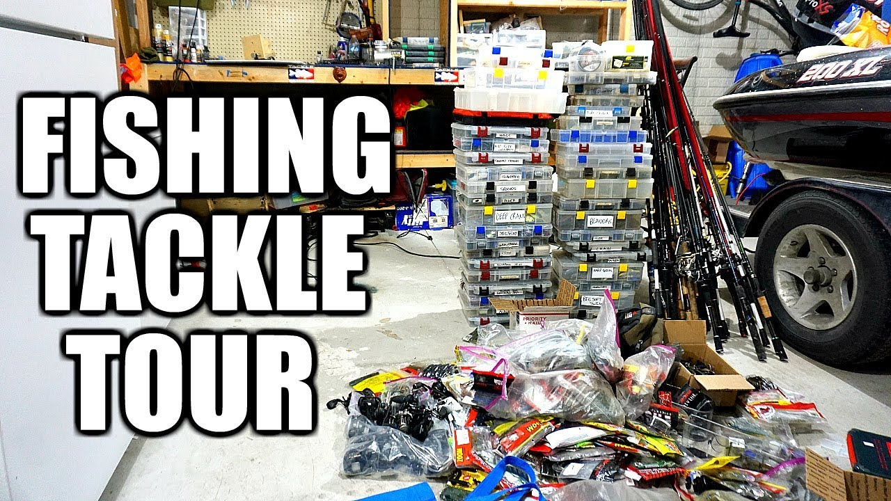 Tackle organization day unboxing touring all my bass for Fishing tackle organization