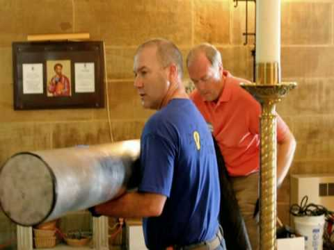 Saint Joseph Cathedral Organ Installation