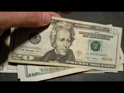 RARE FINDS!! Searching $500 for Rare Bills and Serial