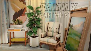 Семейная квартира I Строительство I Family Apartment I SpeedBuild I NO CC [The Sims 4]