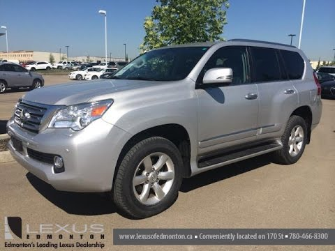 Pre Owned Silver 2010 Lexus GX 460 4WD Ultra Premium Package Review   Fort  McMurray, Alberta