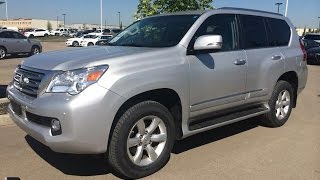 Pre Owned Silver 2010 Lexus GX 460 4WD Ultra Premium Package Review - Fort McMurray, Alberta