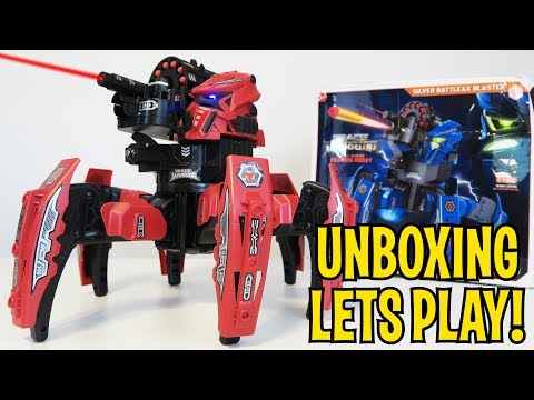UNBOXING & LETS PLAY - SPACE WARRIOR BATTLE ROBOT - FULL REVIEW! by RCmoment