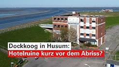 Nordseehotel am Husumer Dockkoog kurz vor dem Abriss?