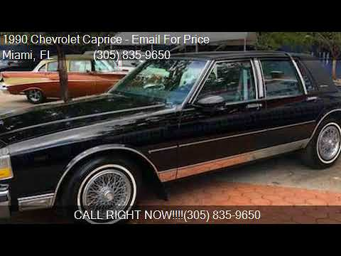 1990 chevrolet caprice ls brougham 4dr classic sedan for sal youtube 1990 chevrolet caprice ls brougham 4dr classic sedan for sal