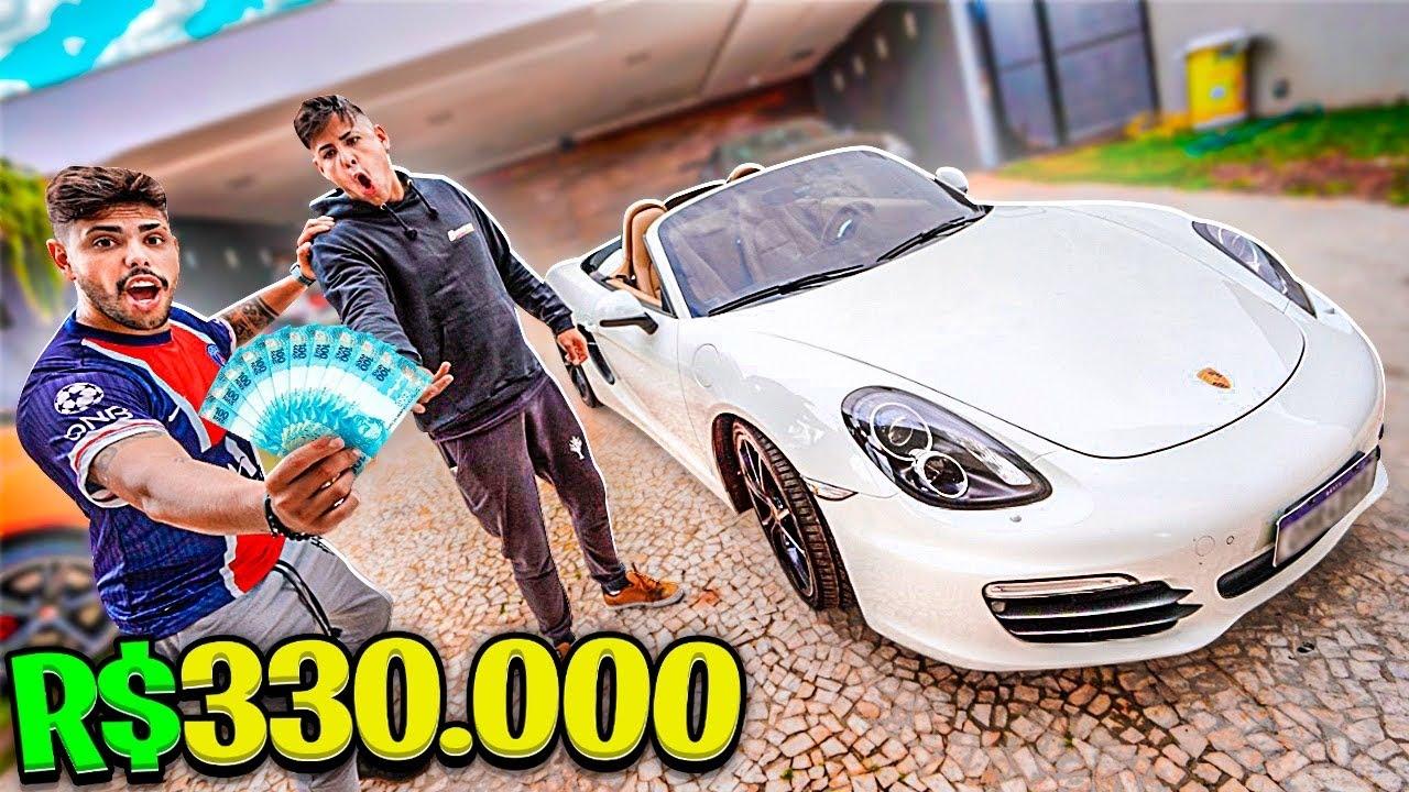 OFERECI 330,000 MIL REAIS  AVISTA NA PORSCHE DO MEU AMIGO * vou trocar de carro *