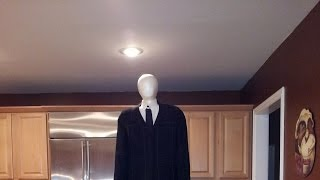 Building The Backpack Slenderman Costume 8 foot tall