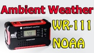 Ambient Weather WR-111 Emergency Radio