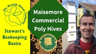 01 Maisemore Poly Hives at the BBKA Spring Convention #Beekeeping Basics - The Norfolk Honey Co.