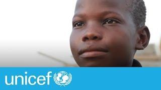 Message d'espoir après le passage de l'Ouragan Matthew en Haïti   UNICEF