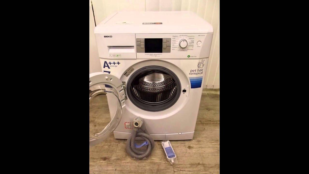 produktbeschreibung beko wmb 71643 pte frontlader waschmaschine a a kwh 1600 upm. Black Bedroom Furniture Sets. Home Design Ideas