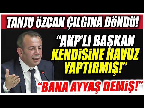 Tanju Özcan çılgına döndü! Bolu Belediyesinde çok sert israf  ve 15 Temmuz tartışması!
