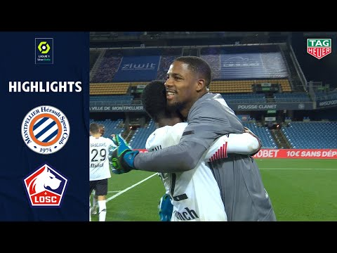 MONTPELLIER HÉRAULT SC - LOSC LILLE (2 - 3) - Highlights - (