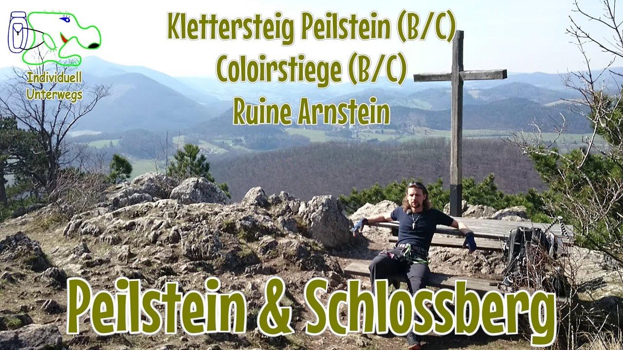 Klettersteig Near Me : Peilstein schlossberg ruine arnstein klettersteige