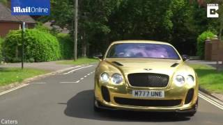 Teenage Millionaire Day Trader Buys Gold Bentley At 19