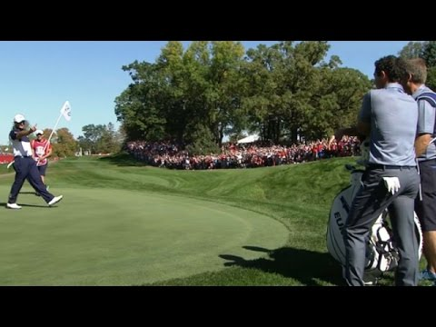 Rory McIlroy, Patrick Reed trade shots at the Ryder Cup